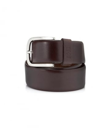 Leather Brown Sun Belt