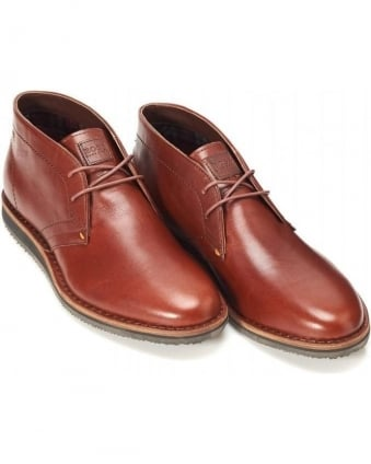 Leather Desert Boots Volusi Brown Boot