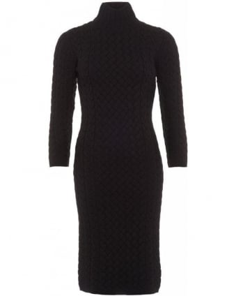 Lifestyle X Range Rover Black Ratio Knitted Dress