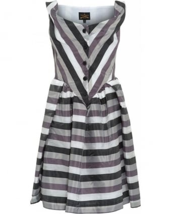 Liquorice Stripe Saturday Dress