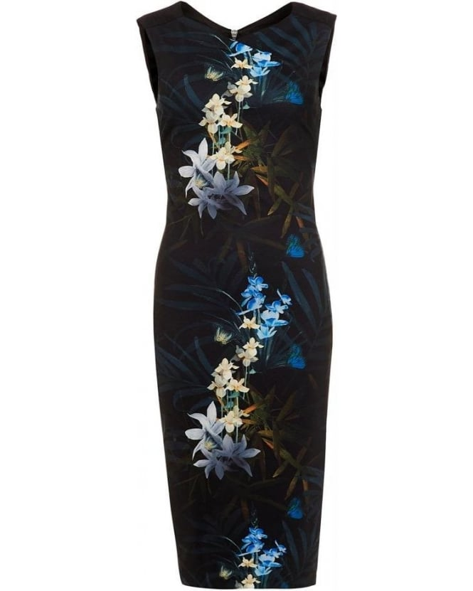 Ted Baker Loua Twilight Floral Midi Dress