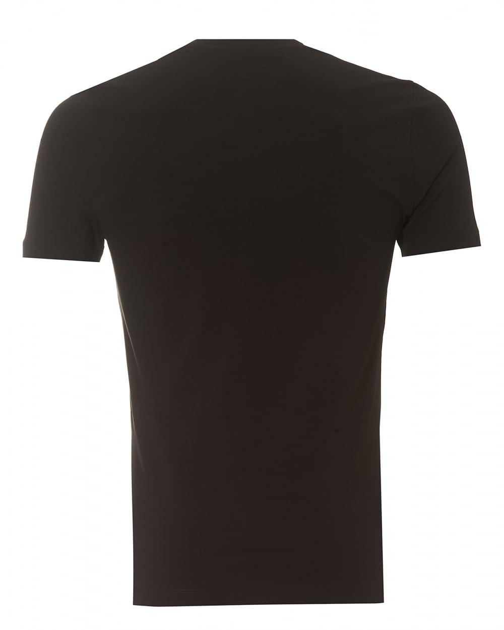 Love Moschino Mens Plain Badge T-Shirt 632452b6c91