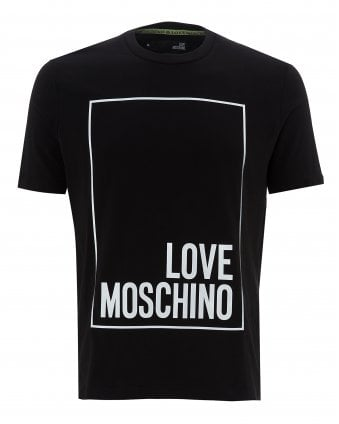 0ea01be88 Mens Reflective Logo T-Shirt, Regular Fit Tee New In. Love Moschino ...