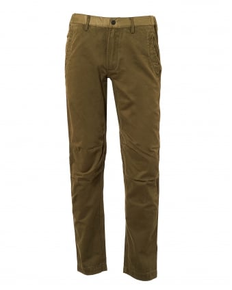Mens Flight Custom Pants, Maha Olive Trousers