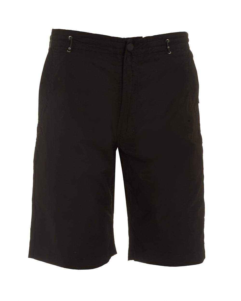 Maharishi Mens Summer Snow Pocket Black Shorts