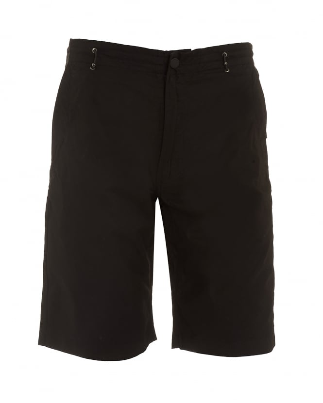 Maharishi Mens Summer Snow Pocket Black Shorts