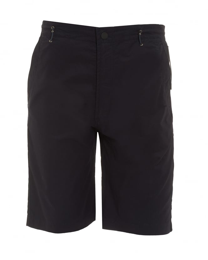 Maharishi Mens Summer Snow Pocket Navy Blue Shorts