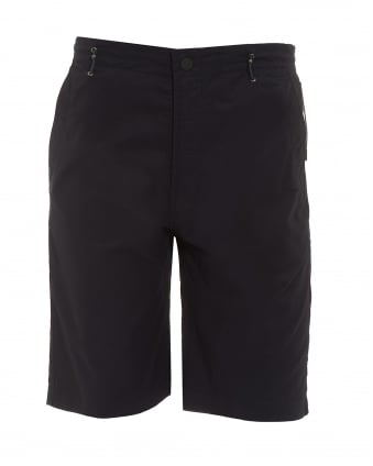 Mens Summer Snow Pocket Navy Blue Shorts