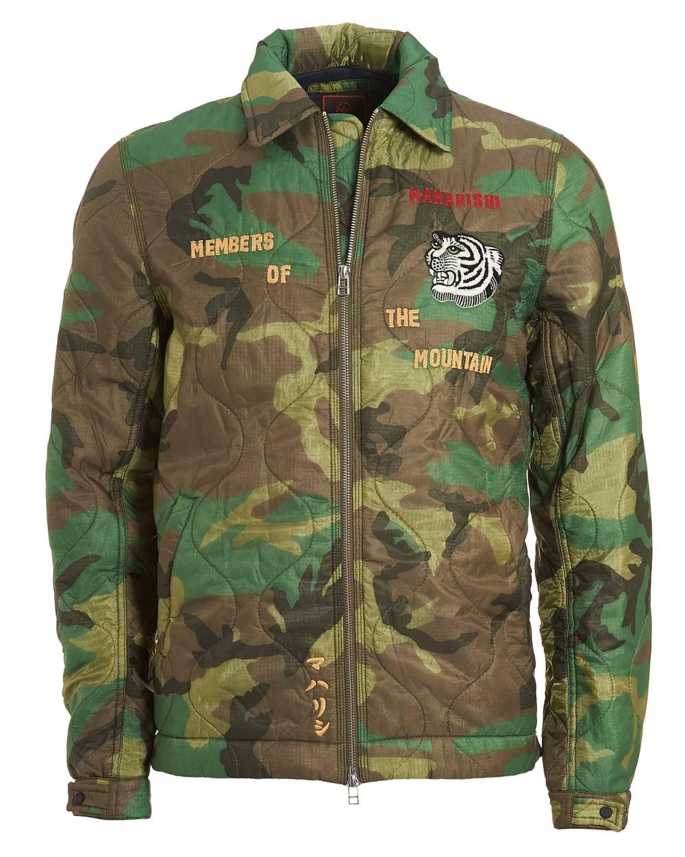 Maharishi mens world map jacket military surplus woodland green coat mens world map jacket vintage military surplus woodland green coat gumiabroncs Image collections