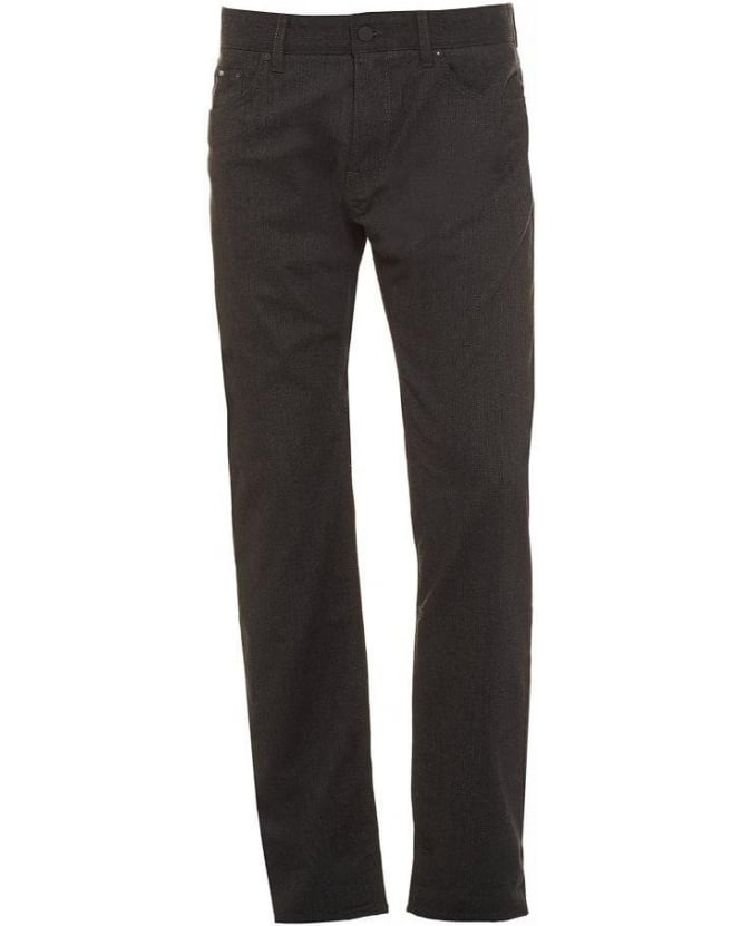 Hugo Boss Black Maine 1-10 Dark Grey Regular Fit Denim Jeans