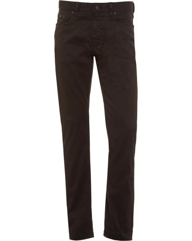 Hugo Boss Black Maine 2-20 Black Stretch Cotton Denim Jeans