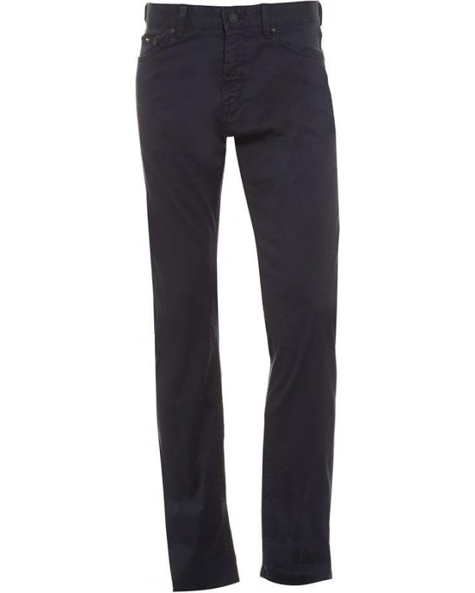 Hugo Boss Black Maine 2-20 Navy Stretch Cotton Denim Jeans