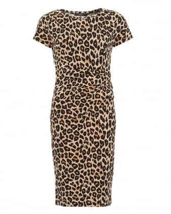 Womens Epsilon Dress, Animal Print Shift Dress