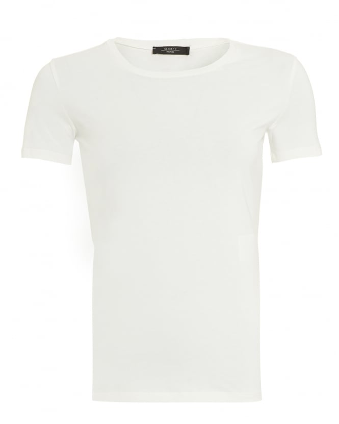 Max Mara Weekend Womens Multi B T-Shirt, Off-White Tee