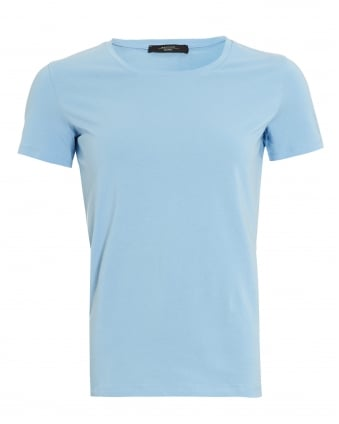 Womens Multi B T-Shirt, Sky Blue Tee