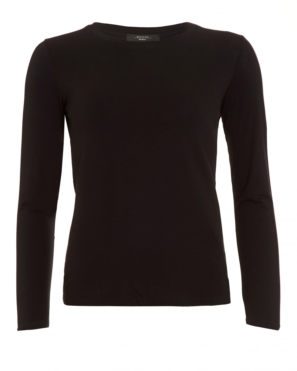 max mara weekend womens multi d top black long sleeve t shirt. Black Bedroom Furniture Sets. Home Design Ideas