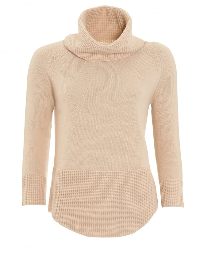 Max Mara Weekend Womens Namur Knitted Sand Jumper