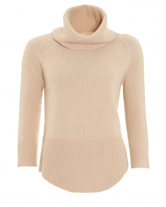 Womens Namur Knitted Sand Jumper