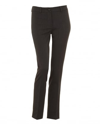Womens Ocarina Charcoal Cigarette Trouser