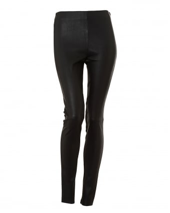Womens Side Zip Maremar Black Trouser