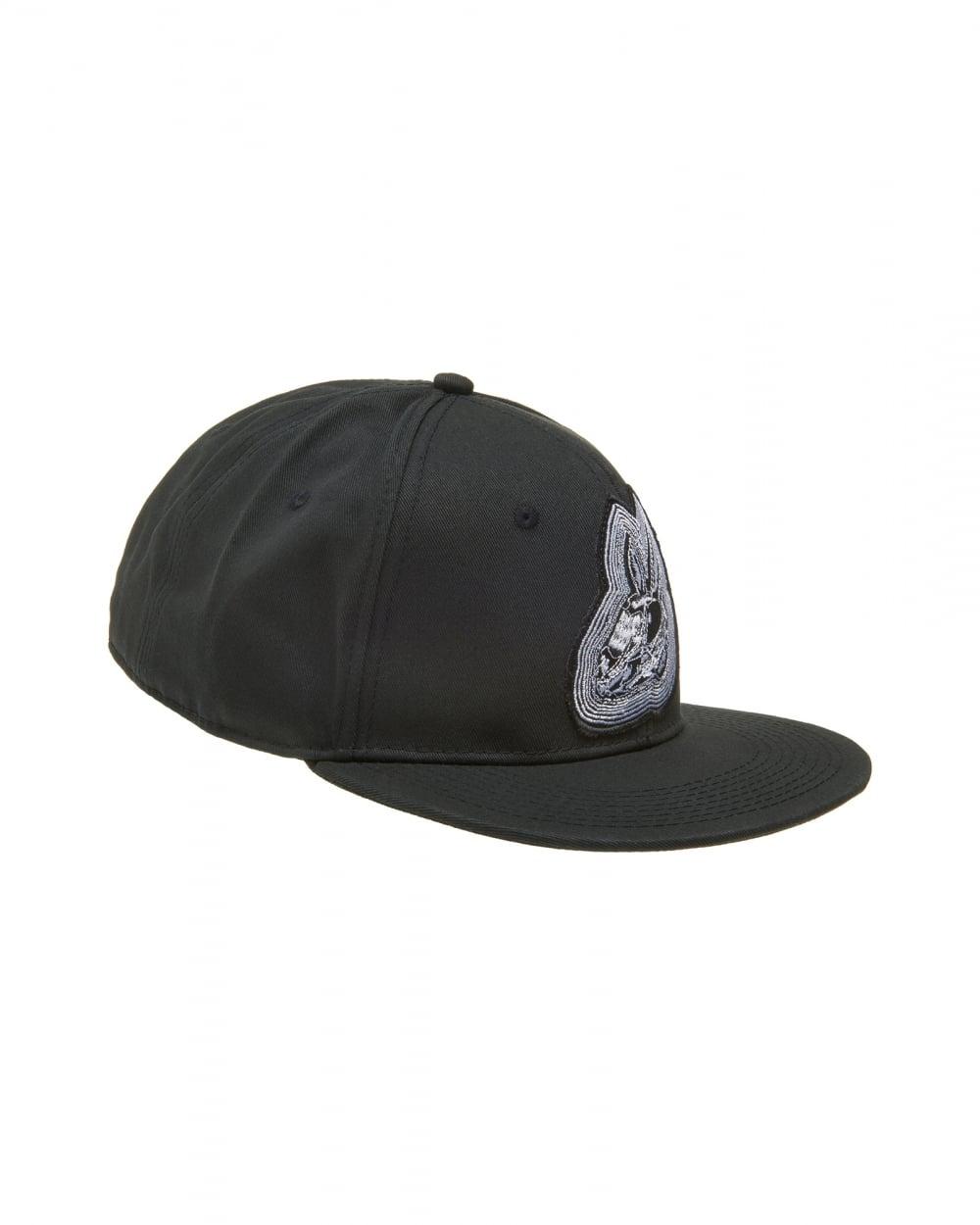 McQ by Alexander McQueen Mens Bunny Baseball Hat 1e58ecfc0225