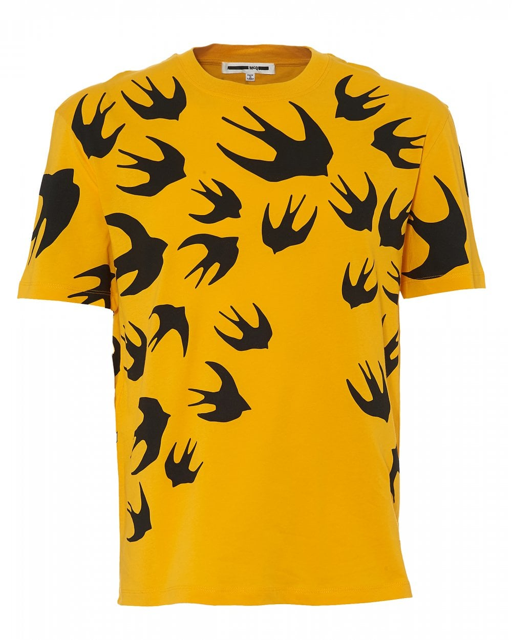 521558dae323 McQ by Alexander McQueen Mens Large Swallow T-Shirt
