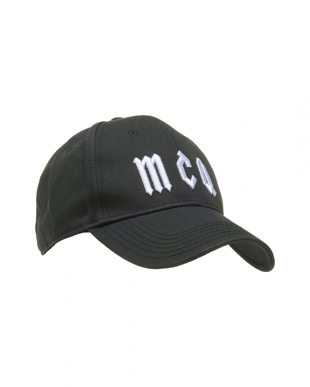 McQ by Alexander McQueen Mens Logo Baseball Hat de59ceab8d9b