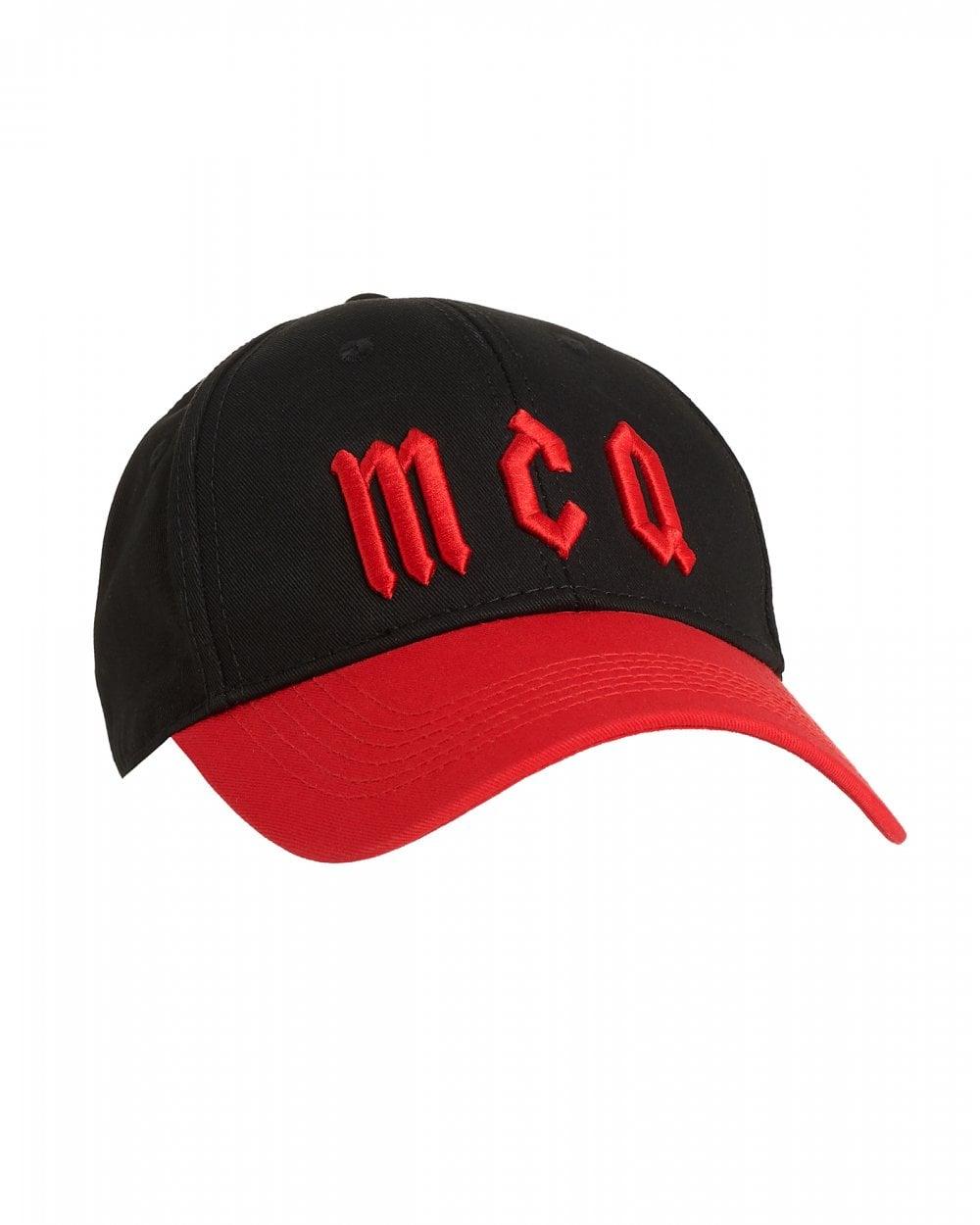 0284d8bb76c McQ by Alexander McQueen Mens Logo Baseball Hat