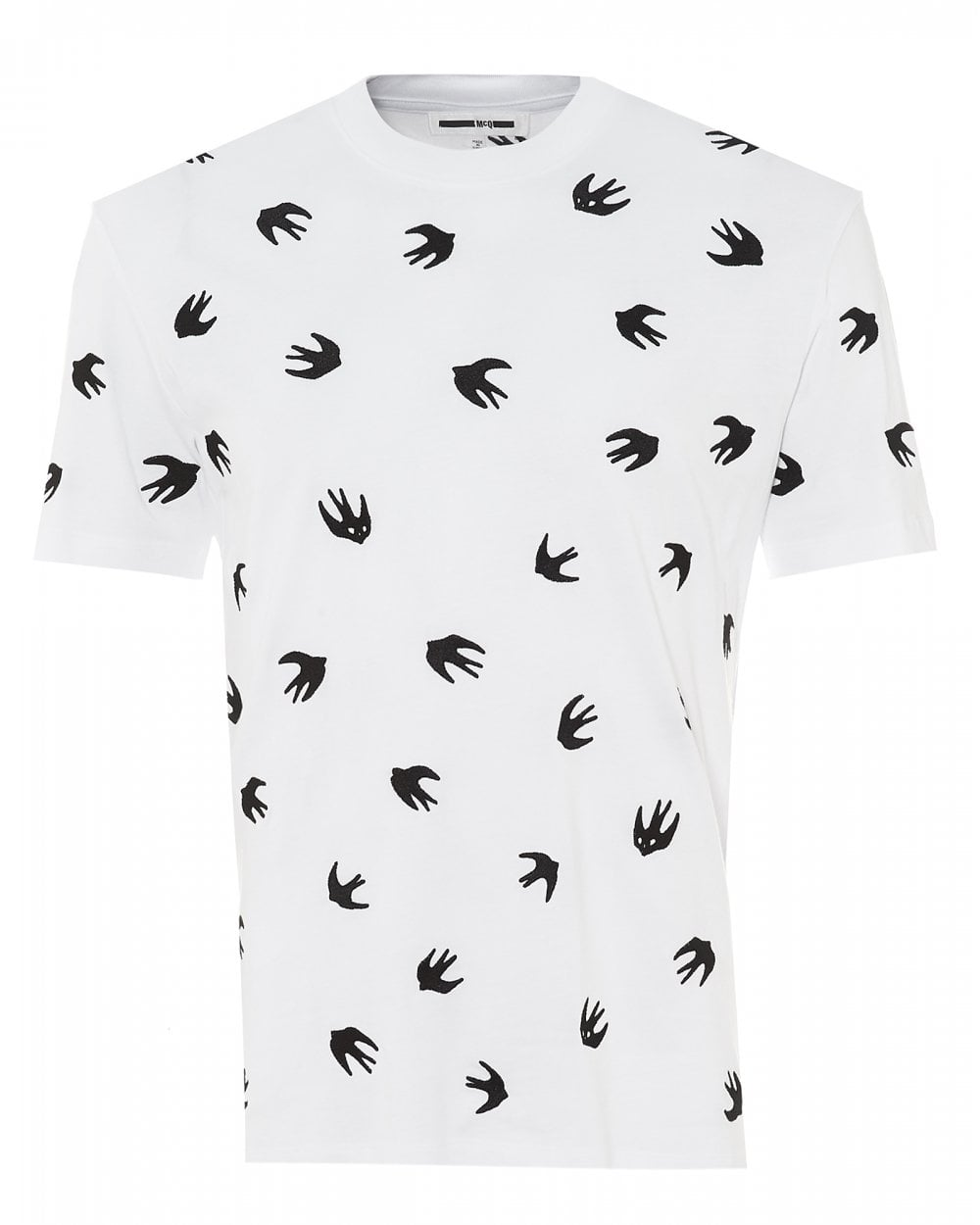 26145cb452ee McQ by Alexander McQueen Mens Mini Swallow T-Shirt