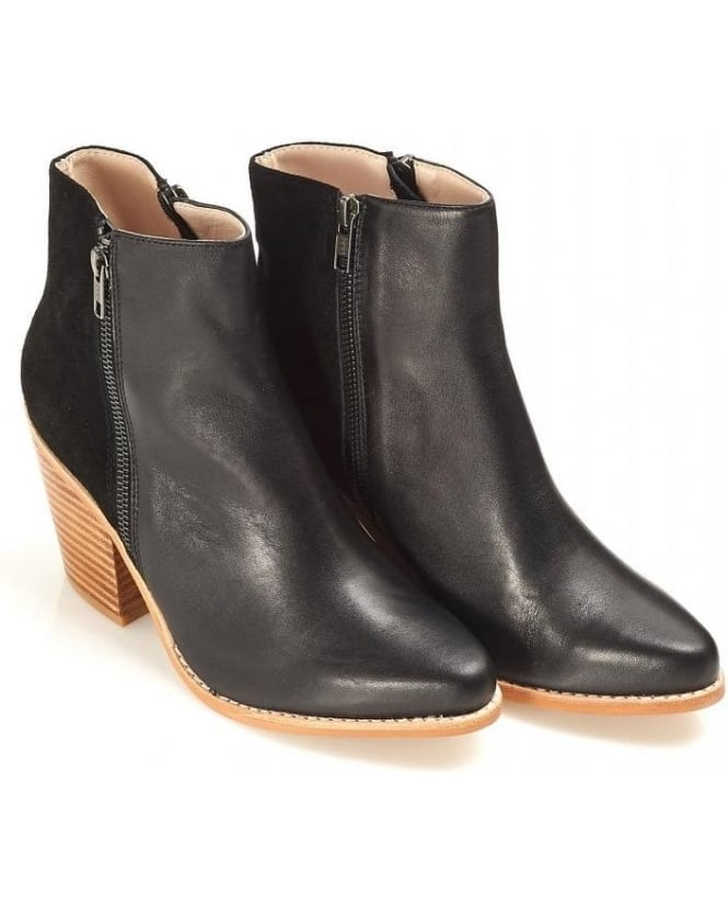 Sol Sana Melody Boot Black Leather Boot