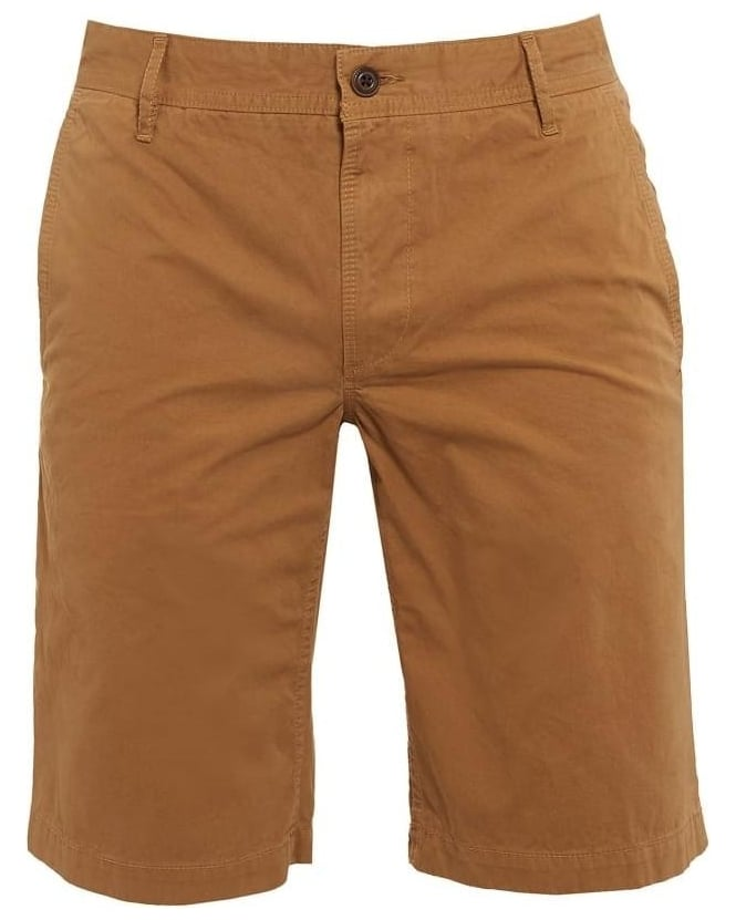 Hugo Boss Orange Mens Chino Shorts Schino Plain Regular Beige Short