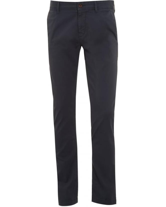 Hugo Boss Orange Mens Chinos Grey Schino-Slim1-D Trousers