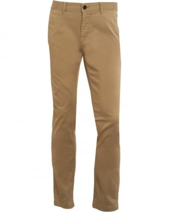 Mens Chinos Slim Tapered Trouser Schino-Slim1-D Beige Chino