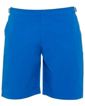 Mens Dane 2 Swim Shorts, Butterfly Blue Long Length Trunks