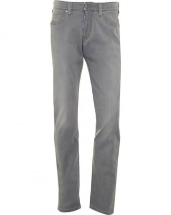 Mens J06 Jeans, Grey Slim Fit Denim