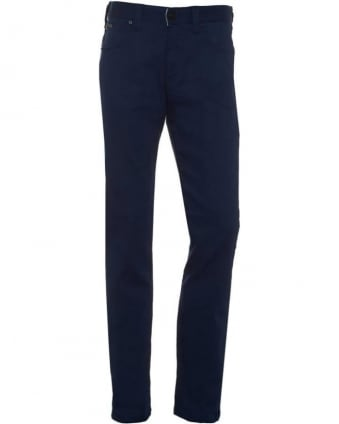 Mens J06 Jeans, Royal Blue Slim Fit Jean
