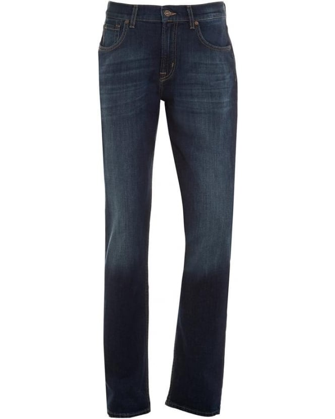 For All Mankind Mens Jeans Straight Dark Used New York Jean