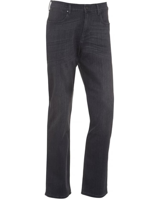 For All Mankind Mens Jeans Superior Luxe Performance Slim Dark Grey Jean