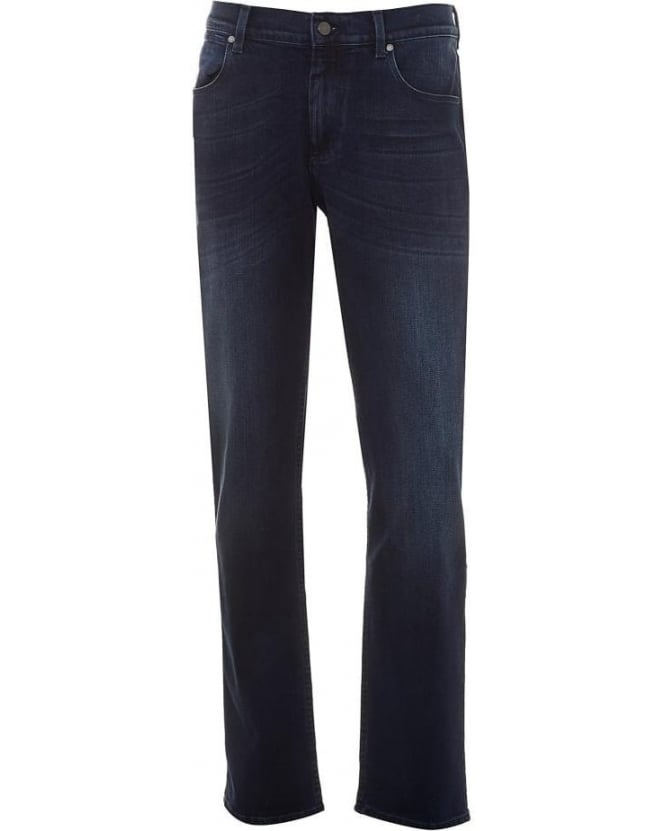 For All Mankind Mens Jeans Superior Luxe Performance Slim Navy Jean