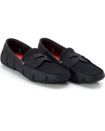 Mens Penny Loafers Black Loafer Shoes