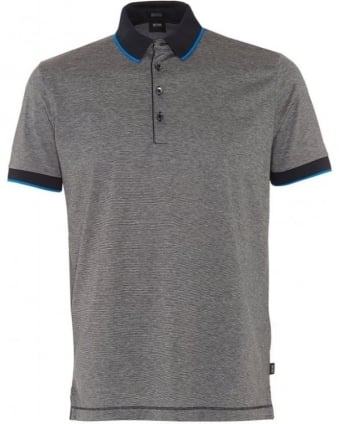 Mens Polo Shirt, Navy Blue Pierson 01 Polo