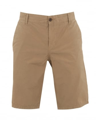 Mens Sairy Short, Beige Cotton Chino Shorts