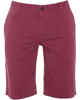 Mens Schino Chino Shorts, Pink Regular Fit Short
