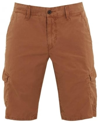 Mens Shorts Schwinn4-Shorts-D Brown Cargo Short