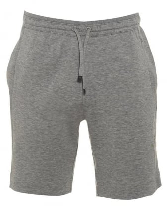 Mens Sweat Shorts Headlo Grey Jersey Short