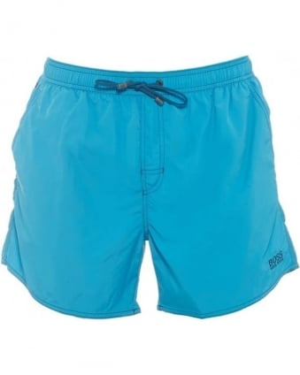 Mens Swim Shorts Lobster Turquoise Quick Dry Short