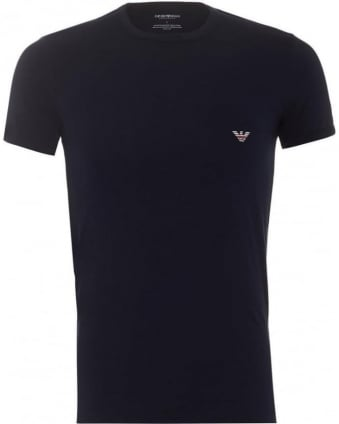 Mens T-Shirt Pack Crew Neck Navy Eagle Logo Tee