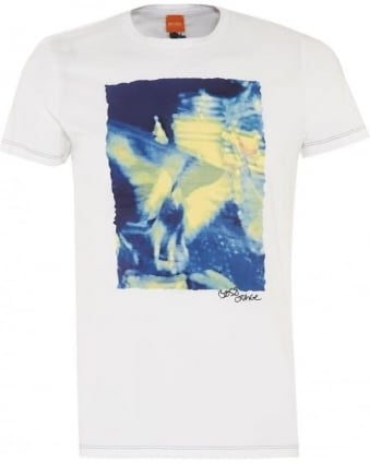 Mens T-Shirt Thurner 1 White Graphic Tee