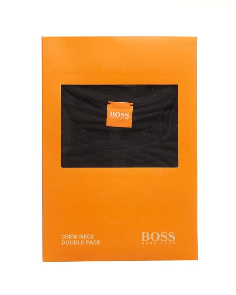 Black t shirt pack - Mens Tedd T Shirts Two Pack Plain Black Tees