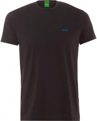 Mens Tee Grey Regular Modern Fit Crew Neck T-Shirt